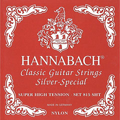 Hannabach 815 SHT Silver Special Red « Cuerdas guit. clásica