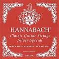 Set di corde per chitarra classica Hannabach 815 SHT Silver Special Red