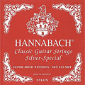 Classical Guitar Strings Hannabach 815 SHT Silver Special Red