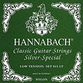 Nylonsträngar Hannabach 815 LT Silver Special Green