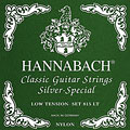 Set di corde per chitarra classica Hannabach 815 LT Silver Special Green