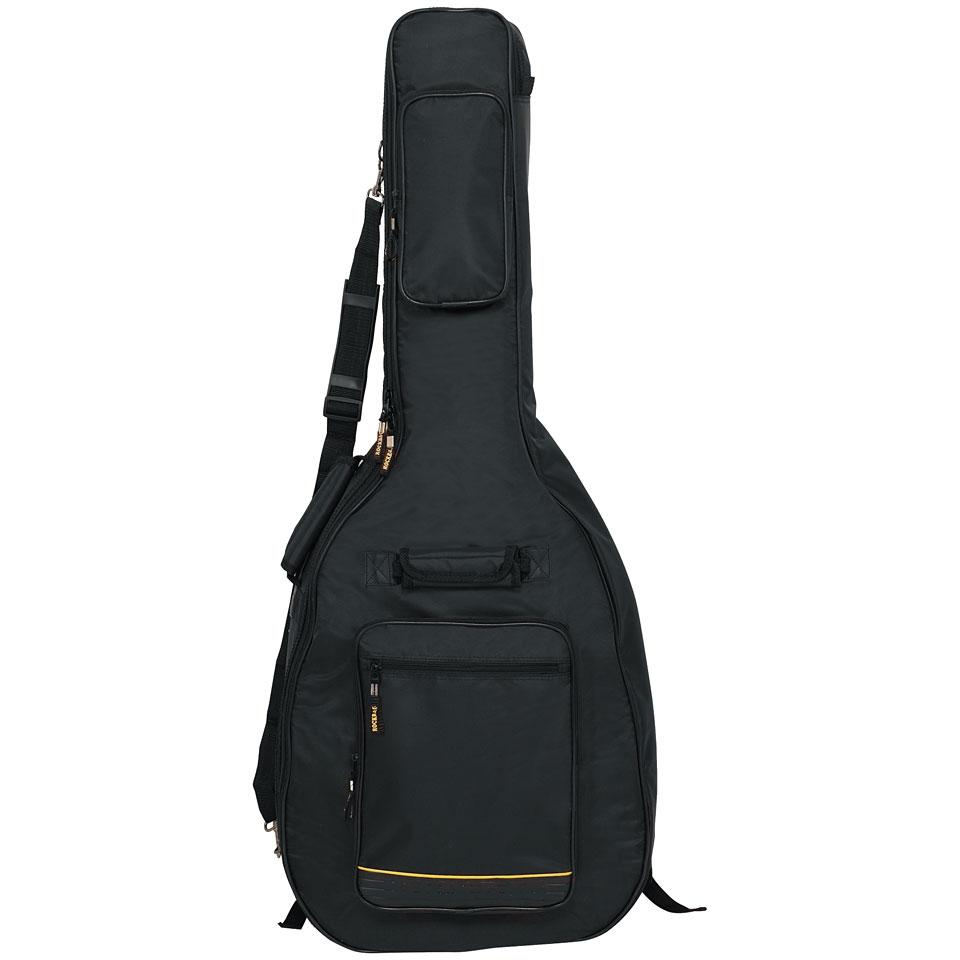 Zubehoergitarren - Rockbag DeLuxe RB20508 B Gigbag Konzertgitarre - Onlineshop Musik Produktiv