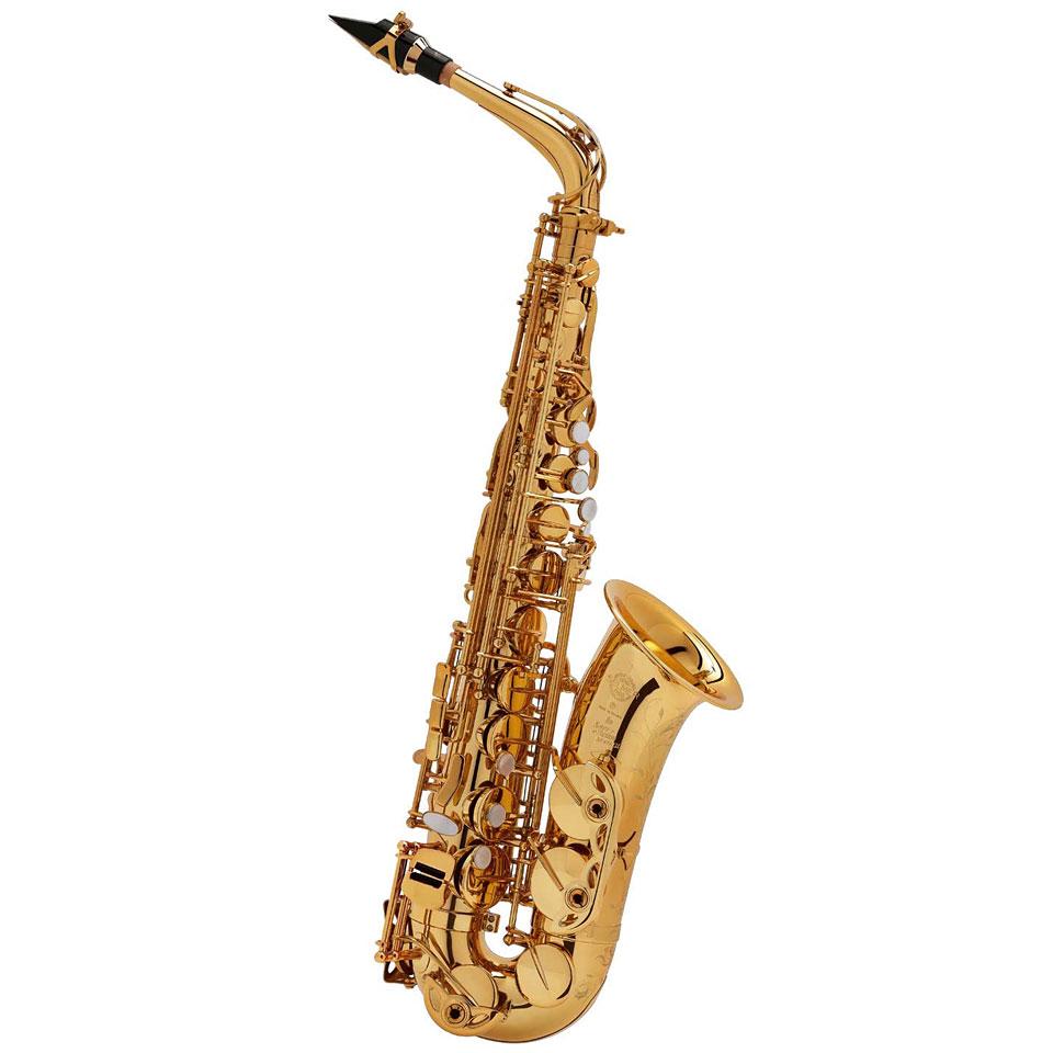 Saxophone - Selmer Super Action 80 II Goldlack Altsaxophon - Onlineshop Musik Produktiv