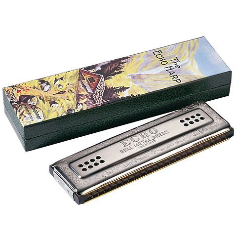 Tremolo-Mundharmonika Hohner Echo Harp C/G 96