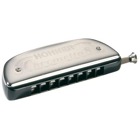 chromatische Mundharmonika Hohner Chrometta 8 C