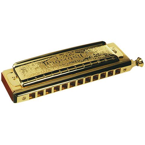 """Armónica cromática Hohner Chromonica II 270 C """"gold"""""""
