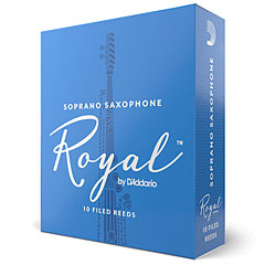 D'Addario Royal Soprano Sax 2,0 « Anches
