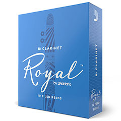 D'Addario Royal Bb-Clarinet 2,5 « Cañas