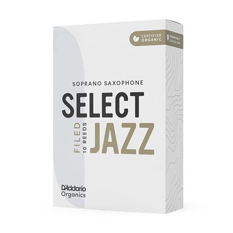 Blätter D'Addario Select Jazz Filed Soprano Sax 3S