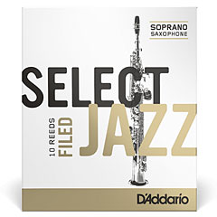 D'Addario Select Jazz Filed Soprano Sax 3S « Anches