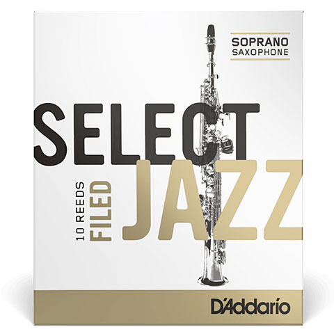 Anches D'Addario Select Jazz Filed Soprano Sax 3M