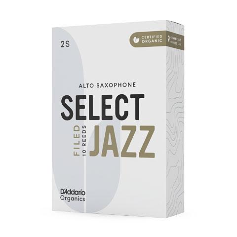 D'Addario Select Jazz Filed Alto Sax 3M