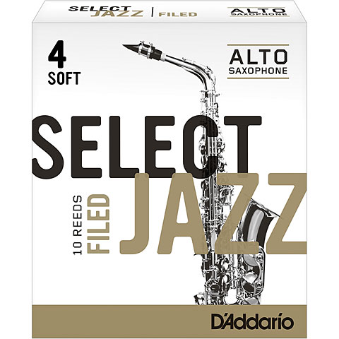 D'Addario Select Jazz Filed Alto Sax 4S