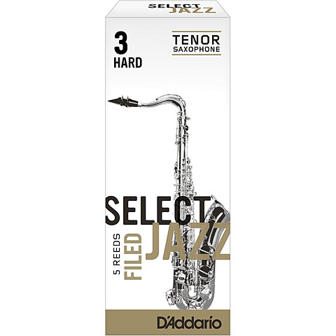 D'Addario Select Jazz Tenorsax filed 3-H