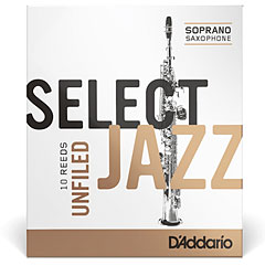 D'Addario Select Jazz Unfiled Soprano Sax 3S « Blätter