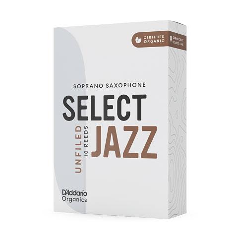 Cañas D'Addario Select Jazz Unfiled Soprano Sax 3M