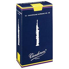 Vandoren Classic Sopransax. 3,5 « Cañas