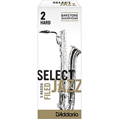 D'Addario Select Jazz Filed Baritone Sax 2H « Blätter