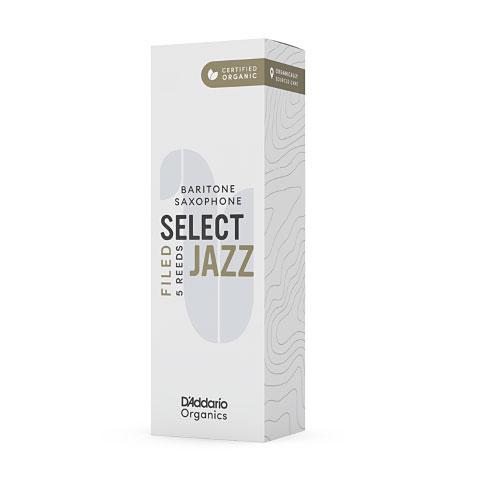 Blätter D'Addario Select Jazz Filed Baritone Sax 4M