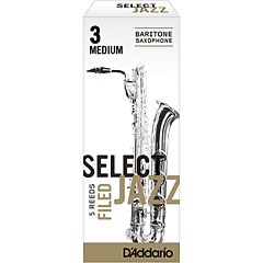 D'Addario Select Jazz Filed Baritone Sax 3M « Anches