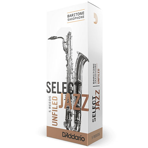 Blätter D'Addario Select Jazz Unfiled Baritone Sax 4S