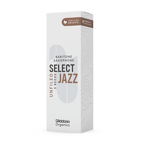Cañas D'Addario Select Jazz Unfiled Baritone Sax 4M