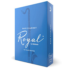 D'Addario Royal Boehm Bass Clarinet 3,5 « Blätter