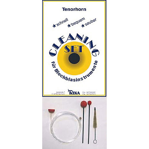 Productos mantenim. Reka Cleaning-Set Tenorhorn & Baritonhorn