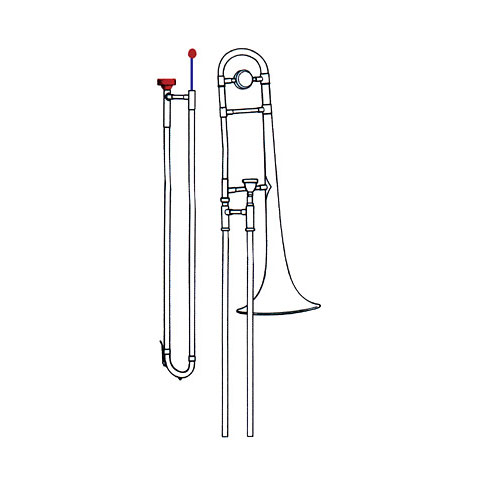 Pflegemittel Reka Cleaning-Set Trombone