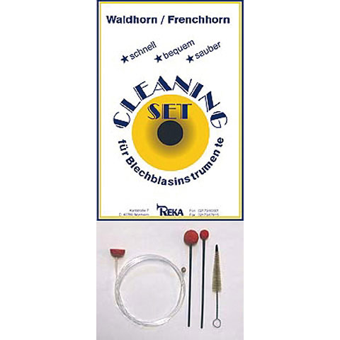 Productos mantenim. Reka Cleaning-Set French-Horn