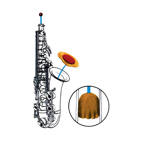 Productos mantenim. Reka Alto-, Tenor-Sax & Bass-Clarinet Swab