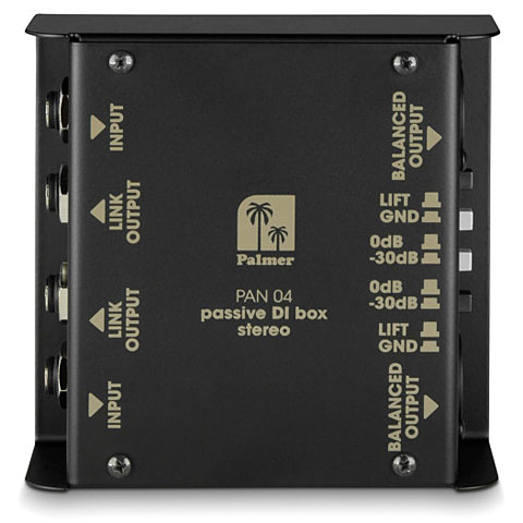 DI-Box/splitter Palmer PAN 04 passiv