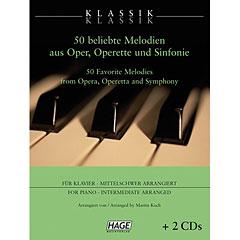 Hage  Klassik Klassik (con 2 CDs) « Libro de partituras