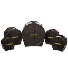 Hardcase 22/10/12/14/14 Drum Case Set Rock Fusion 2 « Drum Cases