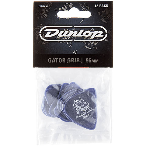Púa Dunlop Gator Grip (0,96 mm / 12 pcs)