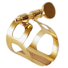 BG Tradition Ligature. 24k Gold plated-L81 « Ajuste cañas