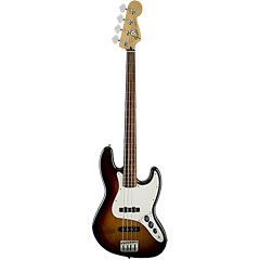 Fender Standard Jazzbass Brown Sunburst « Fretless Bass