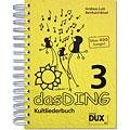 Βιβλίο τραγουδιών Dux Das Ding 3 - Kultliederbuch