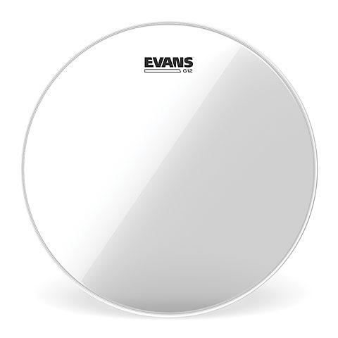 "Tom-Fell Evans Genera G12 Clear 13"" Tom Head"