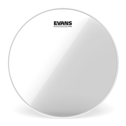 "Evans Genera G12 Clear 14"" Tom Head"