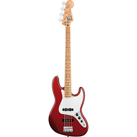 Fender Mex Standard Jazzbass MN Candy Apple Red