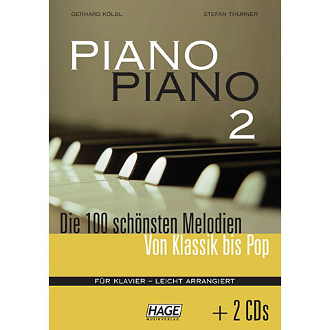Hage Piano Piano 2 incl. 2 CDs