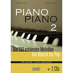 Hage Piano Piano 2 + 2 CDs « Libro de partituras