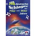 Recueil de morceaux Hildner 140 deutsche Schlager 70er & 80er