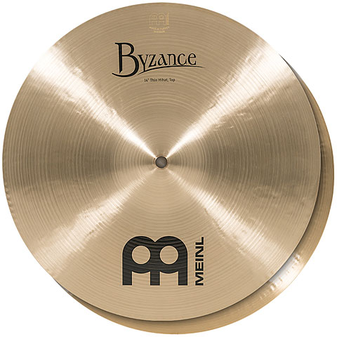 "Hi-Hat-Bekken Meinl Byzance Traditional 14"" Thin HiHat"