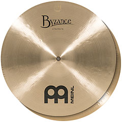 "Meinl Byzance Traditional 14"" Thin HiHat « Cymbale Hi-Hat"