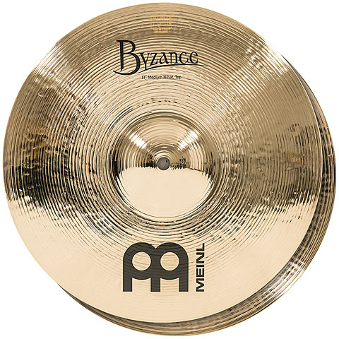 "Meinl Byzance Brilliant 13"" Medium HiHat"