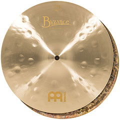 "Meinl Byzance Jazz 13"" Thin HiHat B13JTH « Cymbale Hi-Hat"