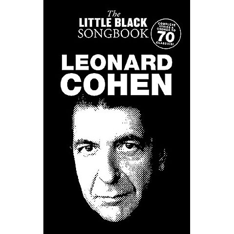 Music Sales The Little Black Songbook Leonard Cohen