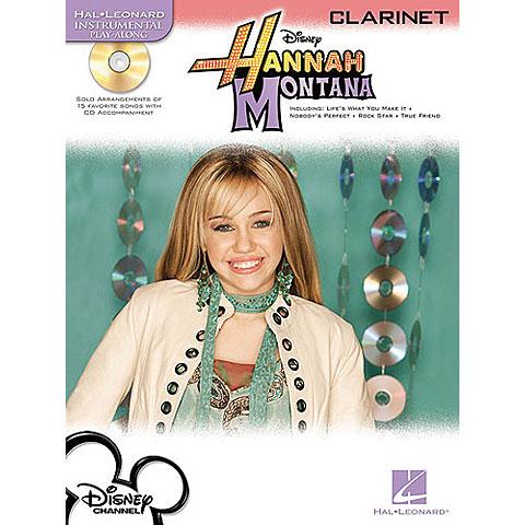 Play-Along Hal Leonard Disney's Hannah Montana for Clarinet
